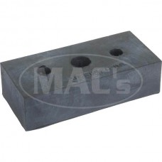 1955-1957 Ford Thunderbird Radiator Support Pad, Rubber Block, Approx 2-7/8 Long X 1-1/4 Wide X 3/4 Thick