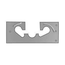 Floorboard Cover Plate - Around Steering Column, Clutch & Brake Pedals - Steel - Ford Passenger