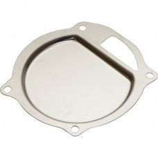1955-1957 Ford Thunderbird Water Pump Baffle, Stainless Steel