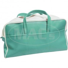 1955 Ford Thunderbird Tote Bag, Green & White