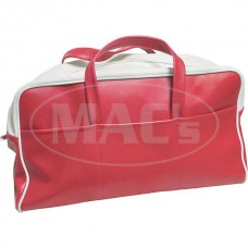 1955 Ford Thunderbird Tote Bag, Red & White
