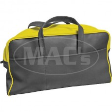 1955 Ford Thunderbird Tote Bag, Yellow & Black