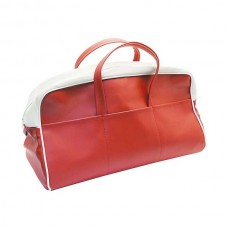 1956 Ford Thunderbird Tote Bag, Red & White