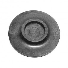 1959-1960 Ford Thunderbird Leaf Spring Anti-Squeak, Teflon Replacement Type, Round With Button In The Center