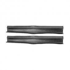 1958-1960 Ford Thunderbird Radiator Support To Hood Seals, Rubber, Sold As A Pair