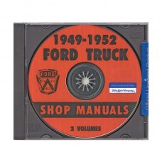 1949-52 Ford Pickup Shop Manual On CD