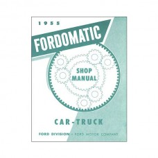 1955 Ford-O-Matic Transmission Manual - 62 Pages