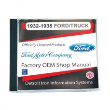 1932-38 Ford Passenger and Truck Manual CD