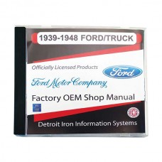 1939-48 Ford Passenger and Truck Manual CD