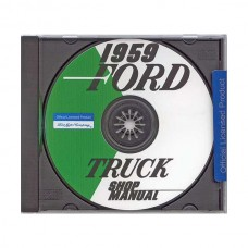 1959 Ford Pickup Shop Manual On CD