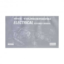 1956 Thunderbird Electrical Assembly Manual, 35 Pages