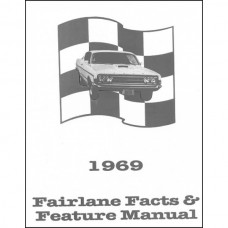 Fairlane Facts and Features Manual - 32 Pages