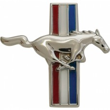 1964-1966 Mustang Right Side Running Horse Fender Ornament for 6 Cyl