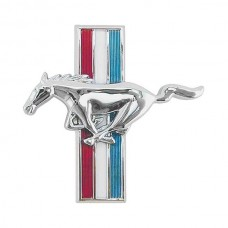 1964-1966 Mustang Left Fender Running Horse Ornament