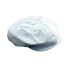 1955-1966 Ford Thunderbird Driving Cap, Gatsby Style, White, Plain, Without Patch