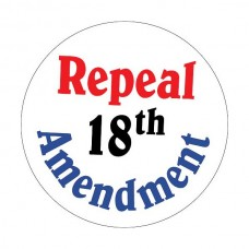 """Repeal 18th Amendment"" Window Decal"