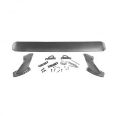 1969-1970 Mustang Rear Spoiler Kit with Black Finish