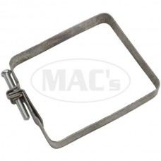 1955-1957 Ford Thunderbird Heater To Blower Air Duct Clamp, Square