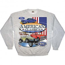 1955-1966 Ford Thunderbird MAC Wear Sweatshirt, MAC's American Classics, Choose Your Size