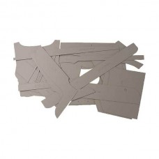 Model A Ford Precut Uncovered Panel Set - Rumble Panels - Coupe & Special Coupe & Business Coupe & Cabriolet