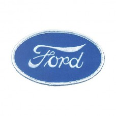 1955-1966 Ford Thunderbird Cloth Patch, Oval Ford Script Emblem