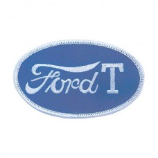 1955-1966 Ford Thunderbird Cloth Patch, Oval Ford Model T Emblem