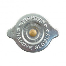 1958-1966 Ford Thunderbird Radiator Cap, 14 LB., Zinc Plated, Reproduction Of Original S M Co Cap
