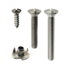 Ford Top Iron Fastener Set - Ford Roadster - 24 Pieces