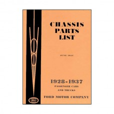 Chassis Parts List - 268 Pages - Ford
