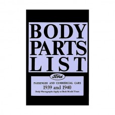 Body Parts List - 86 Pages - Ford