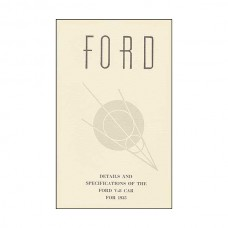Details & Specifications Of The Ford V8 Car For 1935 - 64 Pages