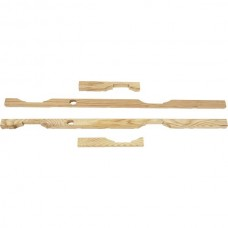 Door Filler Set - Wood - Ford 5 Window Coupe