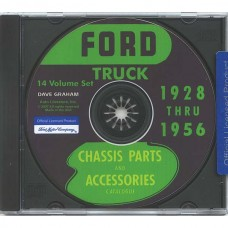 1928-56 Ford Truck Chassis Parts and Accessories Catalog CD