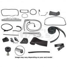 1961 Ford Thunderbird Complete Weather-Strip Kit, Hardtop