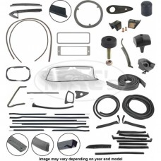 1958-1959 Ford Thunderbird Complete Weather-Strip Kit, Convertible