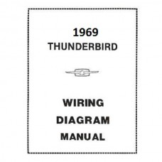 1969 Ford Thunderbird 1969 WIRING DIAGRAM