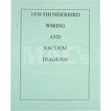 1970 Ford Thunderbird 1970 WIRING DIAGRAM