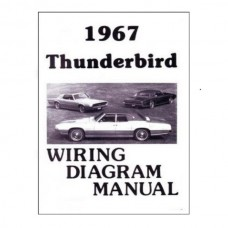 1967 Ford Thunderbird 1967 WIRING DIAGRAM