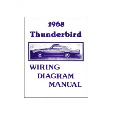 1968 Ford Thunderbird 1968 WIRING DIAGRAM