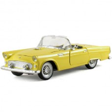 1955 Ford Thunderbird Model, Yellow Convertible, 1:32 Scale