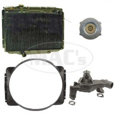 65/66 Galaxie Cooling Kit (3 Row-390/427)