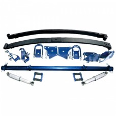 1948-52 Ford Pickup TCI Complete Rear Leaf Spring Kit, Plain Package