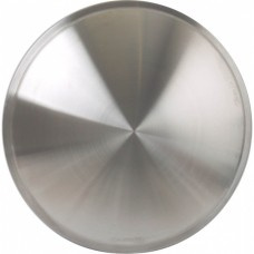 "1955-1979 Ford Thunderbird Wheel Cover Set Of Two, Full 'Moon' Style, Brushed Aluminum Look Stainless, For 14"" Steel Wheels"