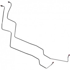 1956-1957 Ford Thunderbird Transmission Cooler Lines, With Expansion Loop, 2-Piece OEM Steel