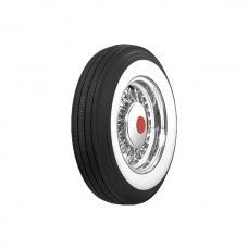 1957 Ford Thunderbird Tire, 750 X 14, 2-1/4 Whitewall, Tubeless, Coker Classic