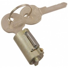 1955-1957 Ford Thunderbird Trunk Lock Cylinder, Includes 2 Keys, Keyhole Cover Is Not Included