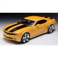Camaro Die-Cast Model, 2009 Concept Car, Yellow, With BlackStripes