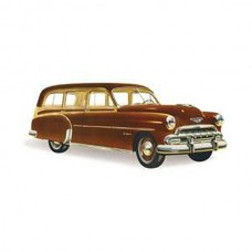 1949-1952 Chevy Stationary Quarter Glass, Station Wagon, Except 1949 Woody