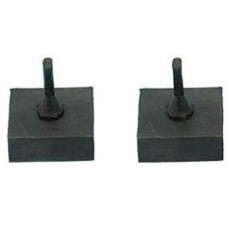 1949-1954 Chevy Window Stop Rubber Bumpers, Hardtop & Convertible, Lower
