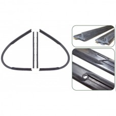 1949-1952 Chevy Vent Window Weatherstripping, Complete, All Except 2-Door Hardtop & Convertible